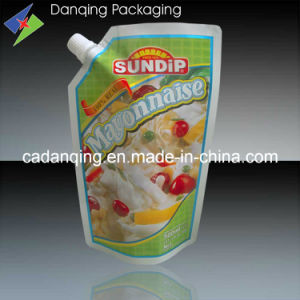 Plastic Food Packaging Printing Doypack for Sauce pictures & photos