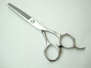 Quality Colored Pet Hair Thinning Scissor pictures & photos