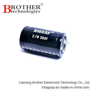Ultracapacitor 2.8V 10f Super Capacitor with High Volage and Low ESR pictures & photos