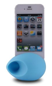 Silicone Speaker for iPhone Horn Stand pictures & photos