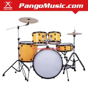 5-PC Professional Yellow Drum Set (Pango PMDM-1800) pictures & photos