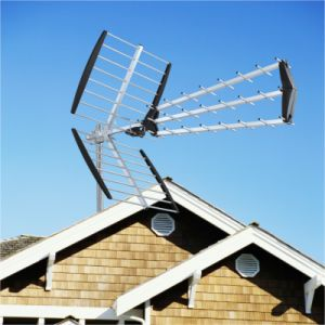 Triple UHF Outdoor TV Antenna (AV-925)
