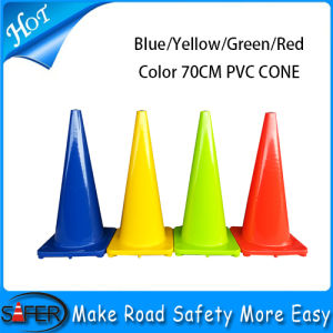 28inch (70cm) Injected Soft PVC Traffic Cone pictures & photos