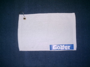 100% Cotton Customized Golf Towels With Normal Hook (CU-69)