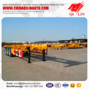 Good Quality Skeleton Semi Trailer with CCC ISO Certificate pictures & photos