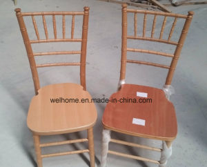 Wholesale Wooden Silla Tiffany Chair for Wedding pictures & photos