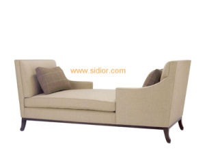 (CL-6632L) Classic Villa Hotel Room Furniture Fabric Leisure Sleeping Lounge pictures & photos
