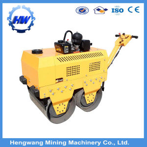 Double Drums Small Vibratory Road Roller with Seat pictures & photos