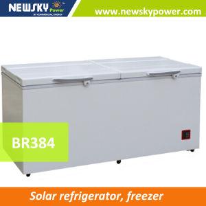 384L Solar Powered Freezer Ice Cream Freezer pictures & photos