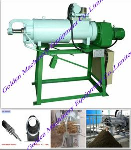 Farm Use Cow Dung Dewatering Pig Manure Extruder Machine pictures & photos