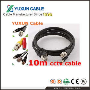 10 Meter Pre-Made CCTV Rg59 Coaxial Cable