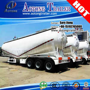 3 Axles 30-60cbm Bulk Cement Tank Carrier Semi Truck Trailer pictures & photos