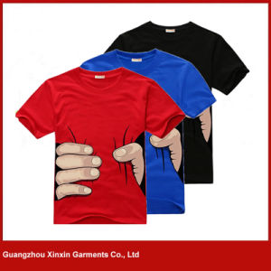 China Wholesale Good Quality Printed T Shirts Supplier for Men (R108) pictures & photos