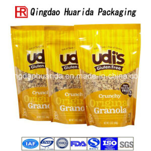 Classic Printed Aluminum Foil Zipper Plastic Snack Food Packaging Bags pictures & photos