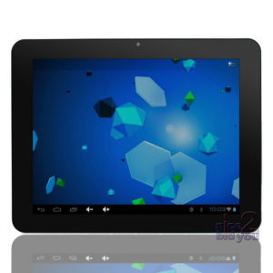 9.7′′ IPS Multi Capacitivel Touching Screen Android 4.0 Cortex A8 WiFi Tablet PC (PL1008B-2)