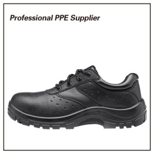 High Quality Black Steel Cheap Work Shoe pictures & photos
