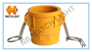 Nylon Coupler Type D Female BSPP Threaded Camlock Fittings pictures & photos