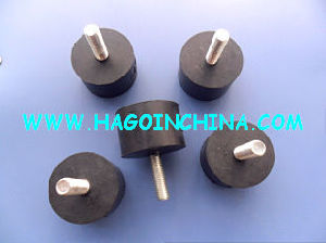 China Rubber Metal Bonded Feet For Sofa Chair Table Furniture Machine Etc