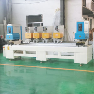 UPVC Profile Machine for Double Head Seamless Welding Window