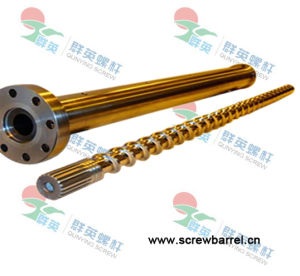 Stainless Steel Screw and Barrel for Plastic Machine (QYY053)