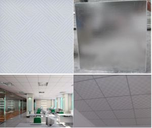 Gypsum Ceiling Board, Ceiling Tiles/PVC Ceiling Tile, PVC Plasterboard Ceiling, Gypsum Ceiling Panel, Prices From $0.88 Per Sqm pictures & photos
