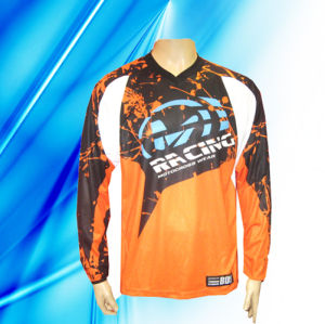100% Polyester Man′s Long Sleeve Motorcycle Wear pictures & photos