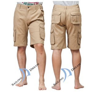 China 2014 Khaki Cotton Men′s Beach Shorts Pants (PS12C34) - China ...