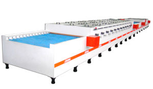Huge Stainless Steel Decoration Plate Etching Line