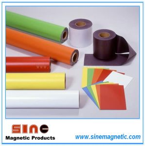 Isotropic Ferrite Rubber Magnet Magnetic Sheet Promotional Magnet pictures & photos