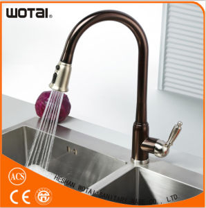 Orb Finished Single Lever Pull out Kitchen Faucet pictures & photos