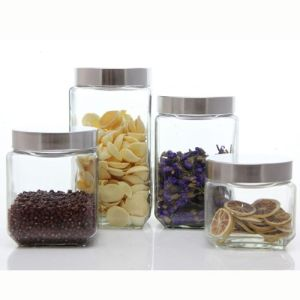 Wholesales 100ml/250ml Small Capacity Glass Food Storage Jar Glass Jam Jar with Metal Lid pictures & photos