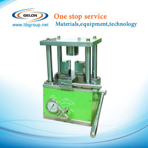 Desk-Top Hydraulic Crimping Machine Gn-510 for Li-ion Button Cylinder Cells18650 26650 Series R&D Lab pictures & photos