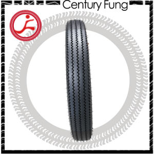 ISO9001, DOT, E4 Certificate Sawtooth Tire for Retro Motor4.50-17 pictures & photos