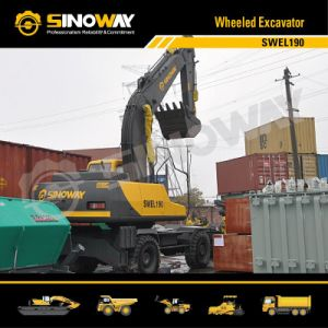 Mobile Excavator with 0.8 Cumic Meter Bucket pictures & photos