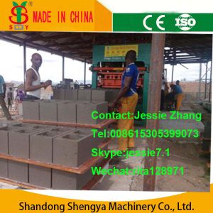 Qt5-20 Hydraulic Block Making Machine pictures & photos