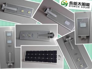 6W Latest Design All in One Solar Street Light pictures & photos