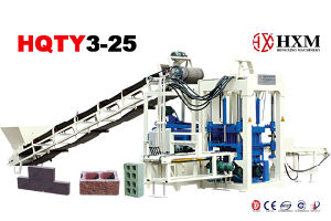 Concrete Block Making Machine Hqty3-25