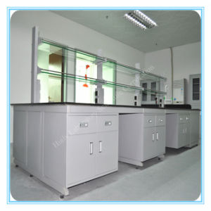 Promotional Chemistry Laboratory Steel Side Bench pictures & photos