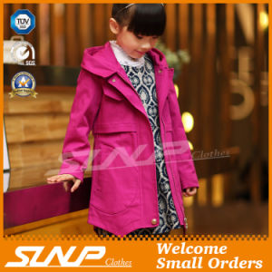 Spring Kids Girl Coat for Children′s Jacket