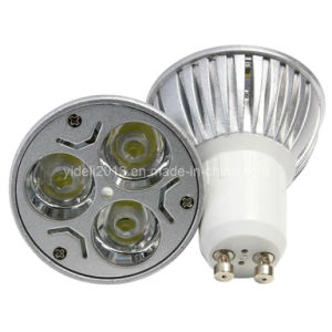 New Dimmable 3*3W LED Bulb GU10 Spotlight Ceiling Lampen pictures & photos