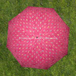 "21""X8k Color-Changeable Cover 3 Fold or Folding Umbrella (YS3F0012)"