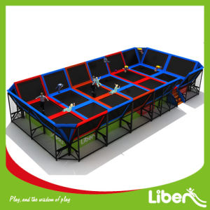 Liben Popular Rectangular Indoor Trampoline for Adults pictures & photos