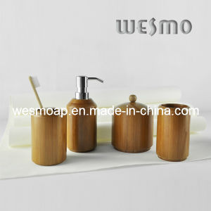 High-End Carbonized Bamboo Bath Coordinates (WBB0626A) pictures & photos