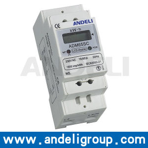 Single Phase Energy Meter (ADM65SC) pictures & photos