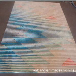 Hand Made Carpet of Star Style Customized Design