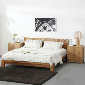 Reclaimed Elm Bed Elegant Wood Bed pictures & photos