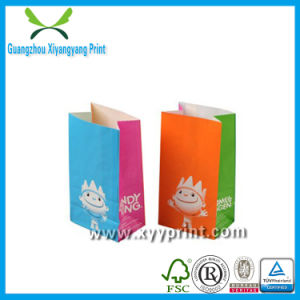Custom Take Away Fast Food Paper Bag with Logo Wholesale pictures & photos