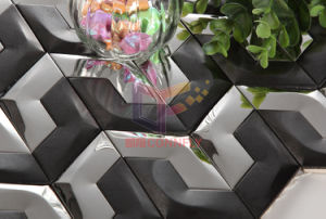 Black and Silver Mixed Stainless Steel Mosaic (CFM997) pictures & photos