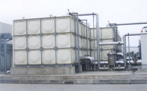 Environmental SMC Combined Water Tank Used in School, Hospital, Hotel pictures & photos