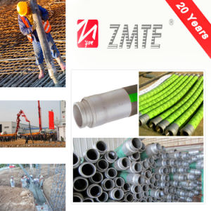 Inner Nitrile Steel Wire Spiral Reinforced Weather Resistant Concrete Hose pictures & photos